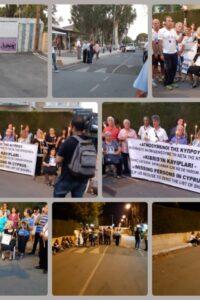 Διαμαρτυρια απο το ledra 21-7-2018